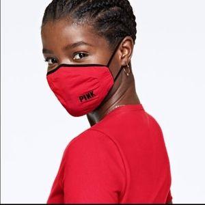 VS Pink logo cloth face mask NWT